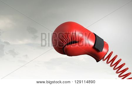 Boxing glove surprise