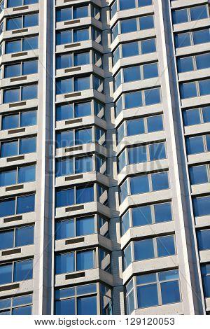 Modern office building  - windows background -