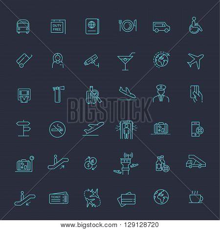 airport icon, airport icon vector, airport icon art