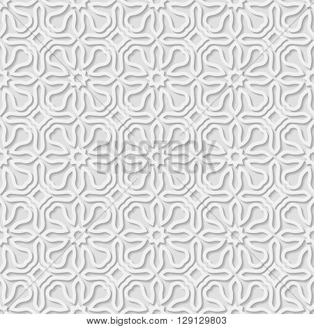 Seamless arabic geometric pattern floral ornament indian ornament persian motif vector. Endless texture can be used for wallpaper pattern fills web page backgroundsurface textures.