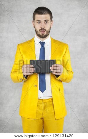 Businessman With An Envelope In His Hands