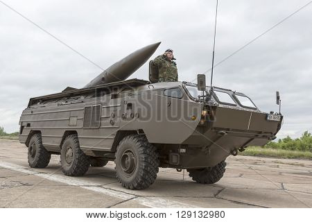 Armoured Vehicle For Infantry Combat With Missile