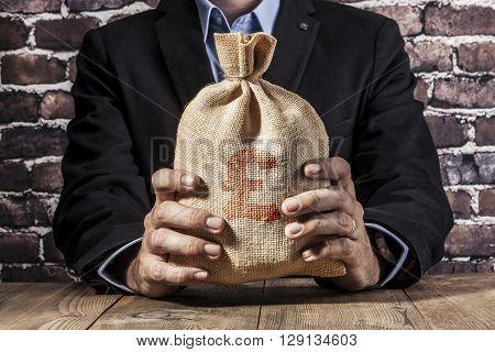 Red Pound Sack