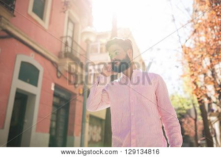 Man Listening Carefully