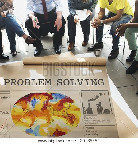 Problem Solving Method Process Solution Plan Concept