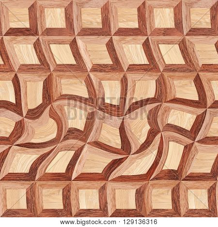 Wooden decorative seamless pattern. Abstract background and texture