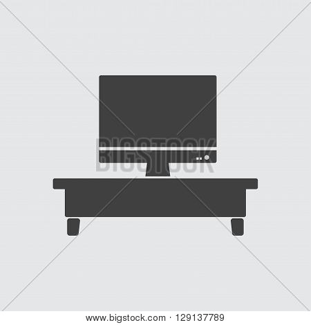TV icon illustration isolated vector sign symbol