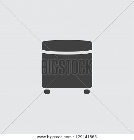 Pouf icon illustration isolated vector sign symbol
