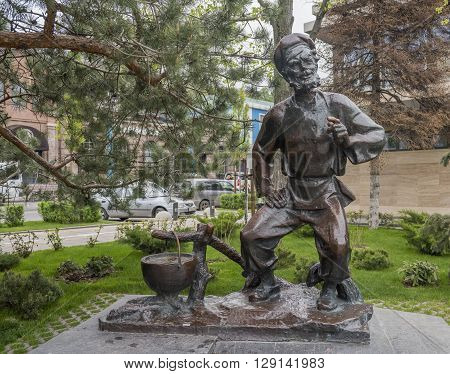 ROSTOV-ON-DON RUSSIA- MAY 01- Monument