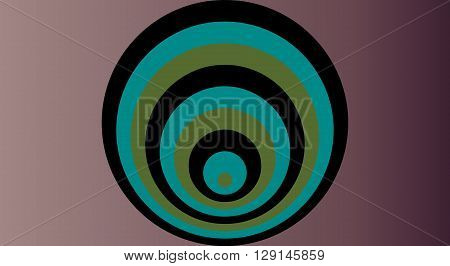 Colorful abstract modern concentric circle texture background pattern