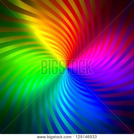 abstract colorful twist background