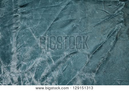 Shiny silver background. Photographic contarst reflector (blende).