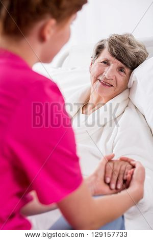 Nurse Supporting Patient