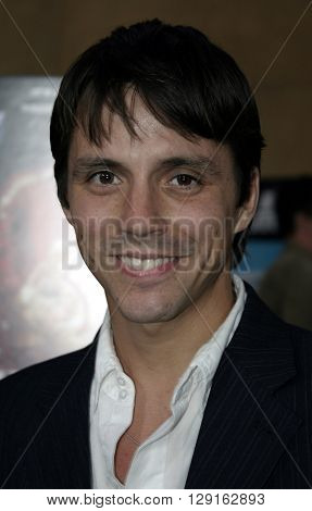Enrique Sapene at the Los Angeles premiere of
