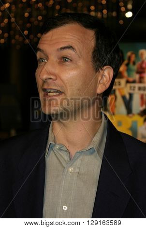 David Kendall at the World premiere of