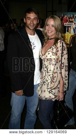 Erin Torpey and Jason-Shane Scott at the World premiere of