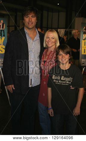 Todd Zeile at the World premiere of