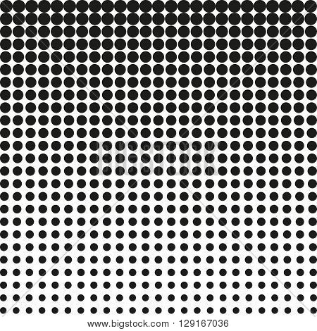 Abstract chalftone. Black dots on white background. Halftone background. Vector halftone dots. halftone on white background. Background for design
