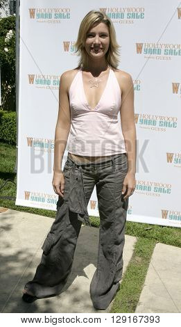 Tava Smiley at the W Magazine Hollywood Yard Sale held at the W Mag in Los Angeles, USA on September 12, 2004.