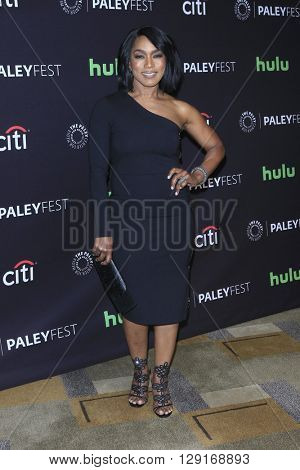 LOS ANGELES - MAR 20:  Angela Bassett at the PaleyFest 2016 - American Horror Story: Hotel at the Dolby Theater on March 20, 2016 in Los Angeles, CA