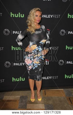 LOS ANGELES - MAR 19:  Coco Austin at the PaleyFest 2016 - Dick Wolf Salute at the Dolby Theater on March 19, 2016 in Los Angeles, CA