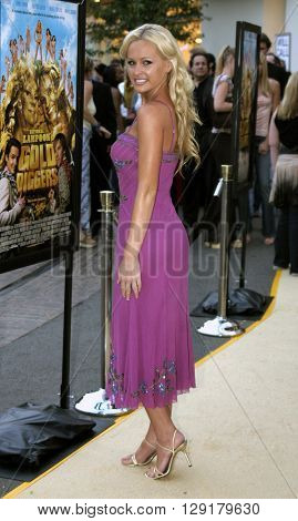 Katie Lohmann at the Los Angeles premiere of