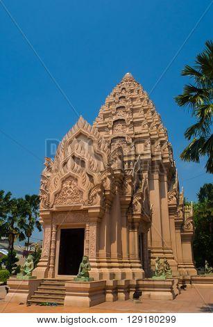 The city pillar shrine of Buriram Thailand Asia