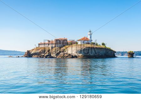 Saint Anastasia Island In Burgas Bay