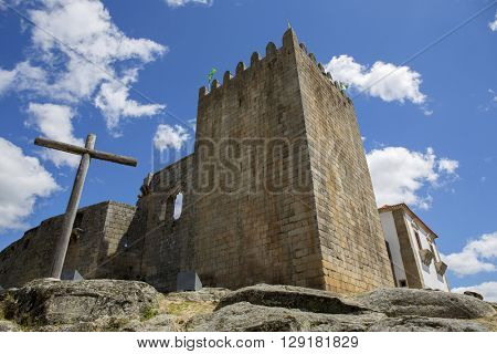 Belmonte castle. Historic village of Portugal, near Covilha