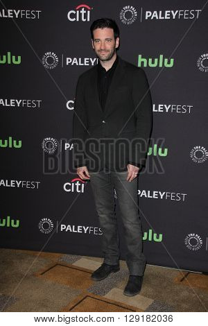 LOS ANGELES - MAR 19:  Colin Donnell at the PaleyFest 2016 - Dick Wolf Salute at the Dolby Theater on March 19, 2016 in Los Angeles, CA