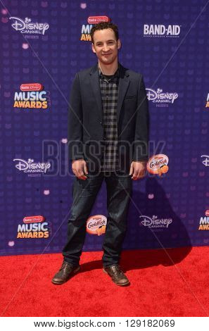 LOS ANGELES - APR 29:  Ben Savage at the 2016 Radio Disney Music Awards at the Microsoft Theater on April 29, 2016 in Los Angeles, CA
