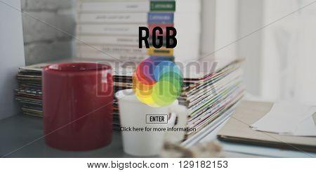 CMYK RGB Colour Colorscheme Creativity Concept