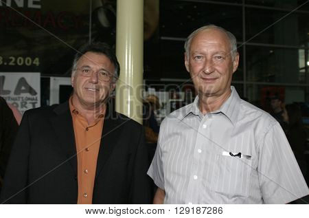 Nick Mandalor and Bill Booker at the Los Angeles premiere of 'Vlad' at the Arclight Cinemas in Hollywood, USA on September 8, 2004.