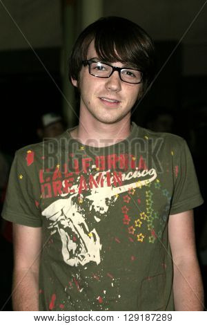 Drake Bell at the Los Angeles premiere of 'Vlad' at the Arclight Cinemas in Hollywood, USA on September 8, 2004.