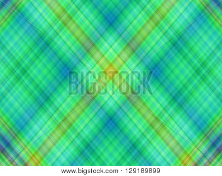 Plaid or tartan green tone color pattern background