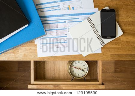 Business Accounting Deadline Concept Background