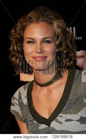 Brooke Burns at Hilary Duff's 18th Birthday Party at the Club Mood in Hollywood, USA on September 28, 2005.