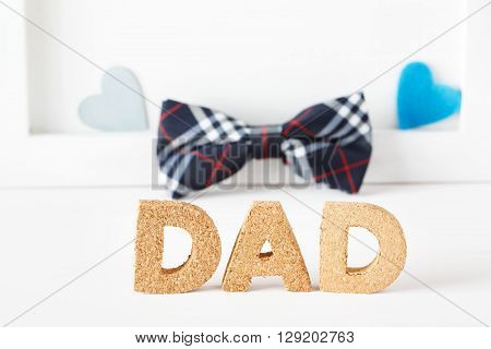 Cork Dad Texts With Bow Tie