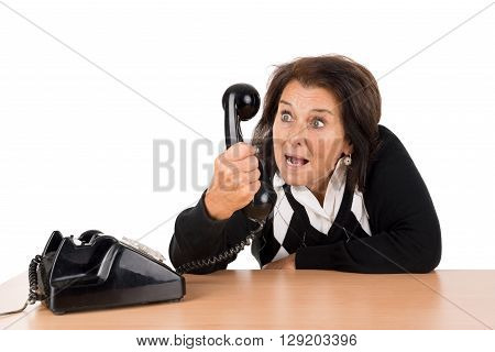 Senior Woman With Phone