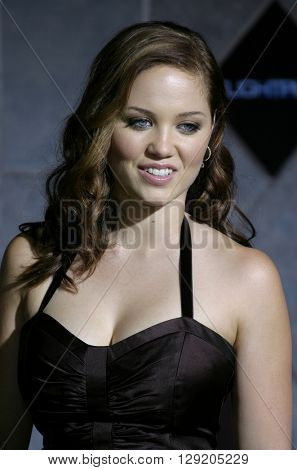 Erika Christensen at the Los Angeles premiere of