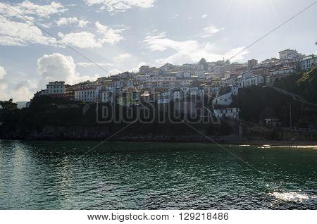Lastres, rustic village in Asturias, northern Spain