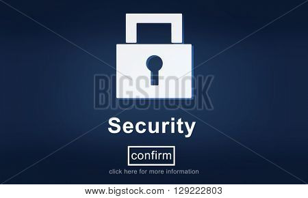 Security Master Key Icon Homepage Protection Concept