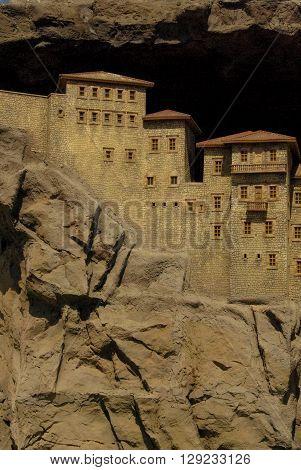 Historical Sumela monastry of Trabzon in Turkey