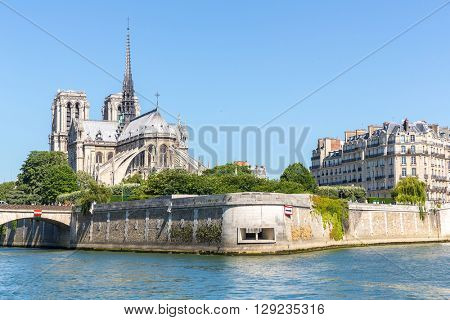 Cathedral Notre Dame Reims Champagne, River Seine, Paris, France