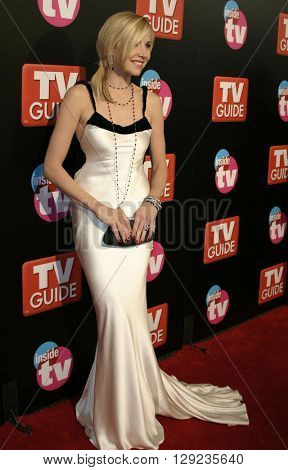 Sarah Chalke at the TV Guide and Inside TV 2005 Emmy After Party at the Roosevelt Hotel in Hollywood, USA on September 18, 2005.