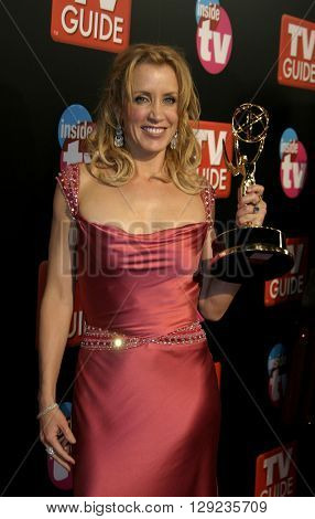 Felicity Huffman at the TV Guide and Inside TV 2005 Emmy After Party at the Roosevelt Hotel in Hollywood, USA on September 18, 2005.