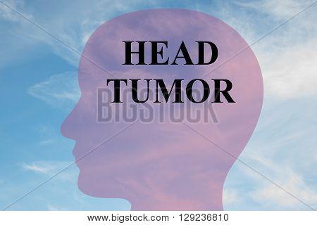 Head Tumor Brain Concept