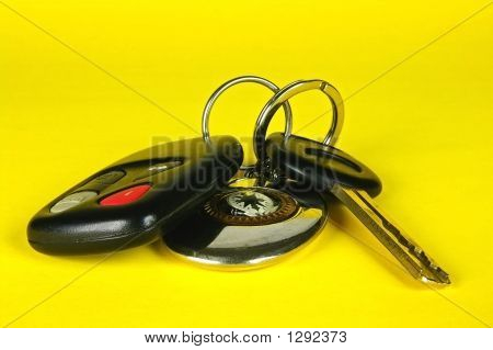Car Key, Remote Control And Keychain