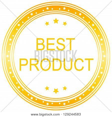 Yellow vector best product banner best product.