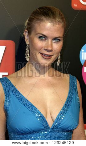 Alison Sweeney at the TV Guide and Inside TV 2005 Emmy After Party at the Roosevelt Hotel in Hollywood, USA on September 18, 2005.